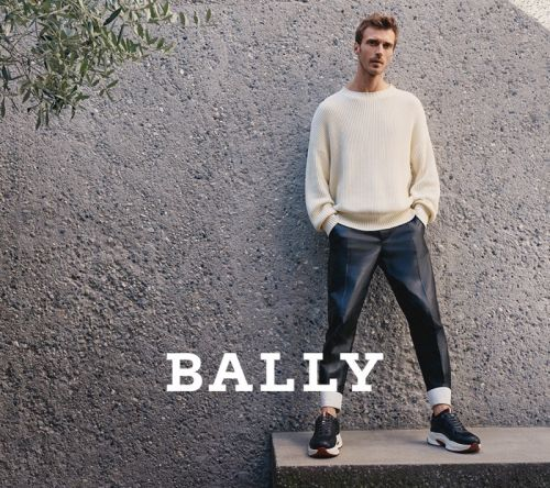 Clément Chabernaud Fronts Bally Spring '20 Campaign