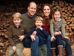 Prince William & Kate Middleton Reveal Family Christmas Card - See The Pic!