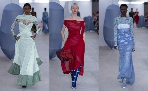 LFW SS20: Richard Malone's dedication to his grandmother
