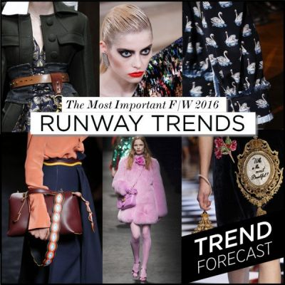 The Top 20 Runway Trends for F/W 2016