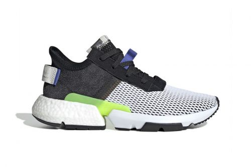 "Adidas Gives the POD-S3.1 ""Core Black/Real Lilac"" a Mesh Upper"