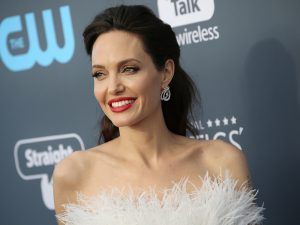 Angelina Jolie Swaps Her LBD For A LWD At The Critics' Choice Awards