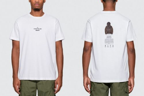 Stone Island Archivio Project Releases a T-Shirt Dedicated to its Lino Watro Camouflage