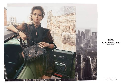 Coach Release AW18 Campaign Featuring Selena Gomez