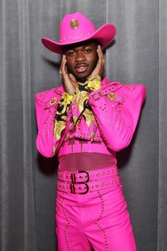 Lil Nas X Is A Popping Pink Cowboy At The Grammys