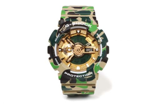 BAPE Teams up With G-SHOCK on an Exclusive 25th Anniversary Model