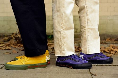 Patta and Vans Vault Celebrate Rude Boy Culture for FW20
