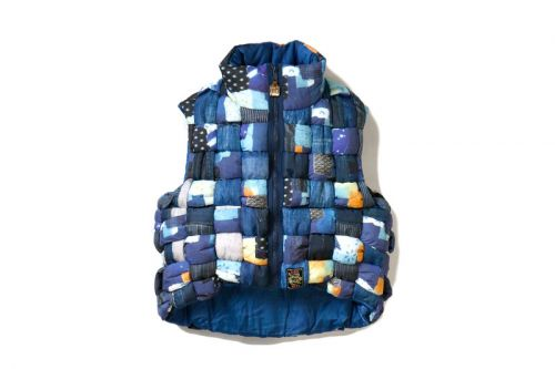KAPITAL's BORO Transcription Vest Explores Traditional Japanese Weaving