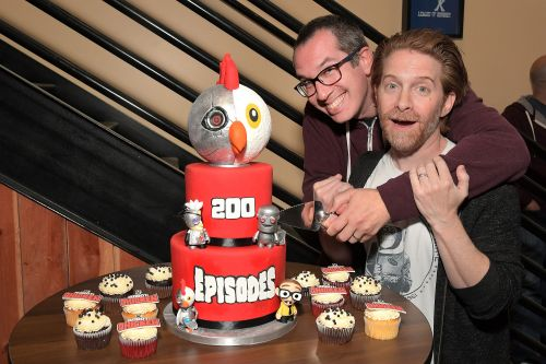 Seth Green celebrates 200 episodes of 'Robot Chicken'
