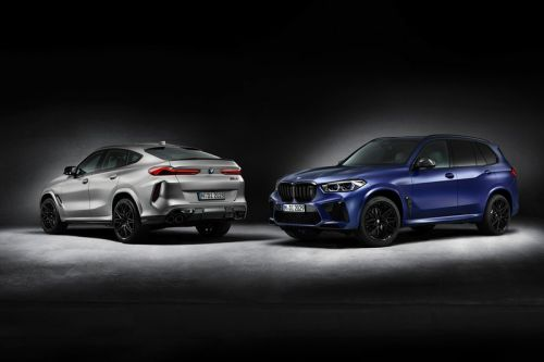 "BMW X5 M and X6 M Competition ""First Edtion"" SUVs Are 625 HP Family Superwagons"
