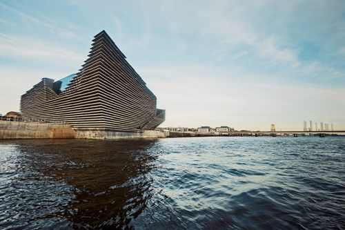 See the V&A Dundee's Stunning Cliff-Inspired Architecture by Kengo Kuma