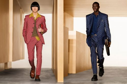 Versace Introduces a New Monogram for FW21