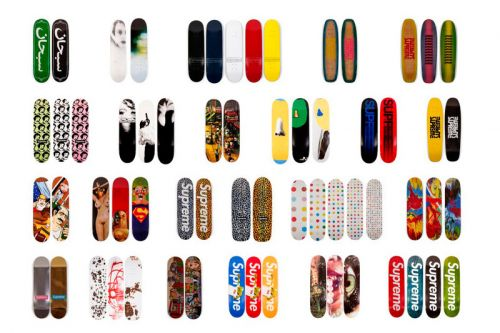 Supreme Skate Deck Collection Worth $1 Million USD to Be Auctioned Off