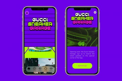Gucci Sneaker Garage App Lets You Design Virtual Shoes