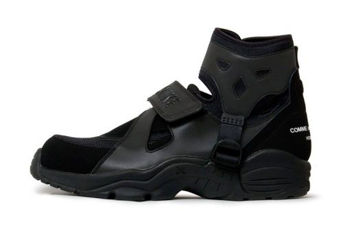 The COMME des GARÇONS HOMME PLUS x Nike Air Carnivore Is Now Available
