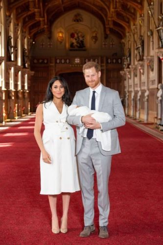 Every Photo from the Royal Baby's Debut with Meghan Markle