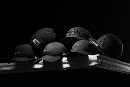 Fragment design and New Era Release Monochromatic Headwear Capsule