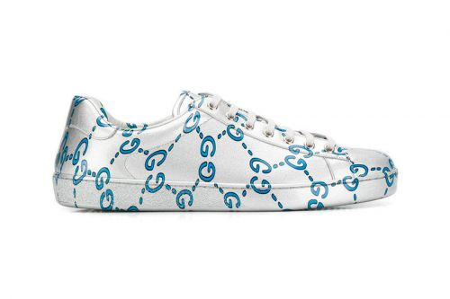 """Gucci Wraps Its Latest Ace Sneaker in """"GG Monogram"""""""