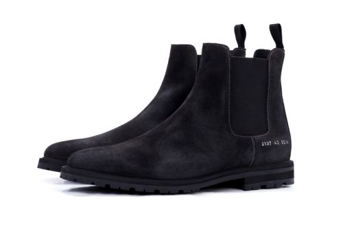 Roden Gray Aligns With Common Projects on a Collaborative Chelsea Boot