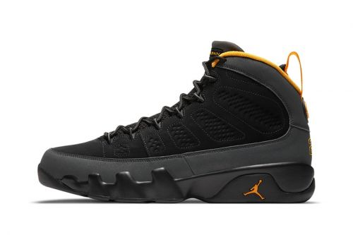 "Official Look at the Air Jordan 9 ""University Gold"""