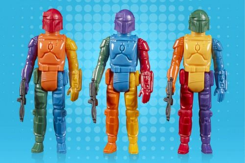 Hasbro Brought Back Its Kenner Rainbow Boba Fett Figure For 'Star Wars' Day