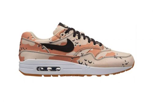 "Nike Air Max 1 Premium Gets Dipped in ""Beach Camo"""