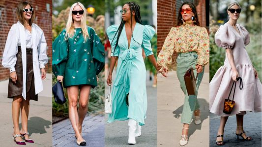 The Fashion Crowd Is Still Into Puffy Statement Sleeves on Day 4 of New York Fashion Week