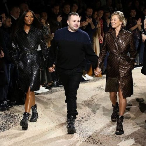 Naomi and Kate just slayed the runway at Kim Jones' last Louis Vuitton show