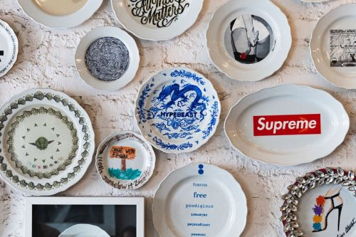 HYPEBEAST Is the Latest Addition to Sant Ambroeus' Celebrated Art Plate Series