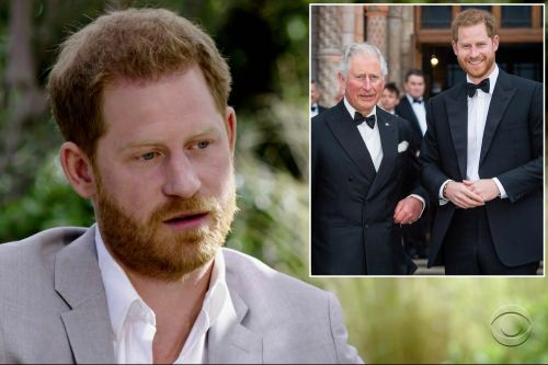 Prince Harry's body language exposed 'suppressed anger' at Prince Charles: experts