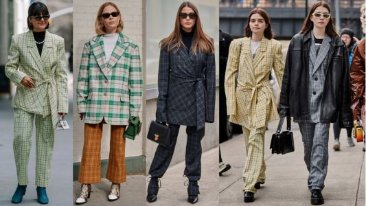 Plaid Suits Were Everywhere on Day 4 of New York Fashion Week
