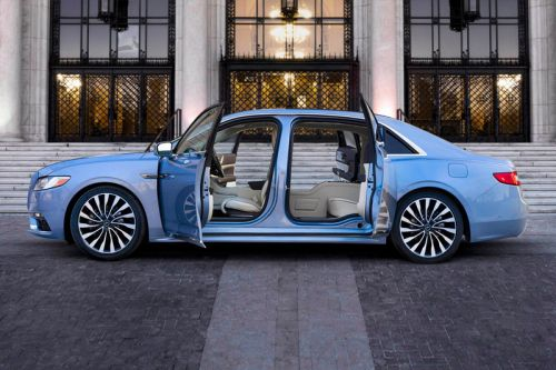 Lincoln's 2019 Special Edition Continentals Come With Suicide Doors