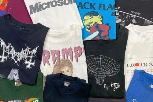 Modern Matter: Investing in Vintage Band Tees