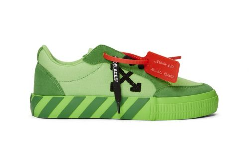 Off-White™ Releases Colorful Vulcanized Low-Tops Exclusively for SSENSE