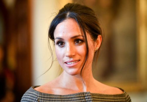 Meghan Markle Wore a Thing: Victoria Beckham Button-Down Edition