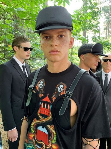 Tashi, Tyler, Claus & Reece Front Burberry Spring Campaign