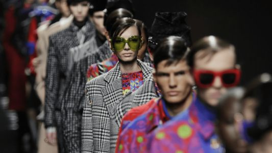 Versace Tones Things Back for Fall 2020