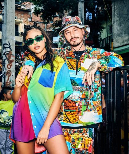 J Balvin teams up with Guess for another colourful collab