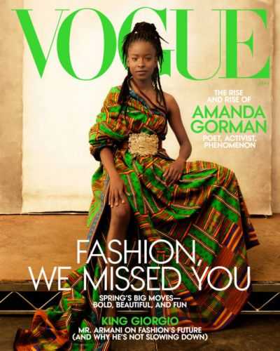 Shop The Exact Tory Burch Sandals From Amanda Gorman's 'Vogue' Cover