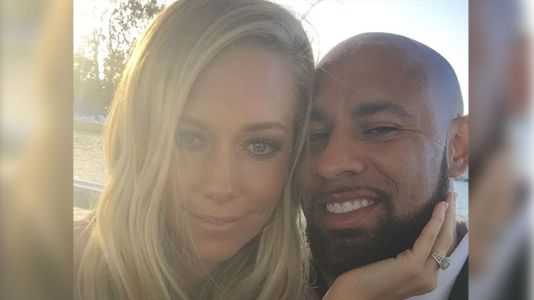 Kendra Wilkinson Reunites With Her Estranged Husband Hank Baskett at Their Son's Hockey Game