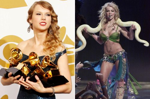 What Taylor and Britney have in common - besides pop stardom