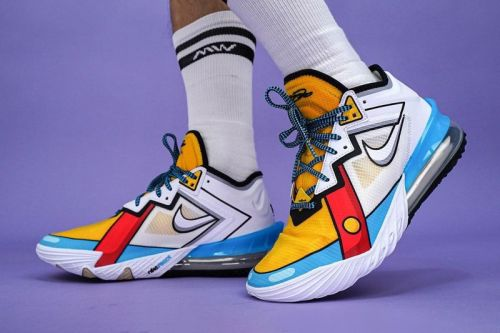 """What the Deuce? The Nike LeBron 18 Low Appears in a """"Stewie Griffin"""" Colorway"""