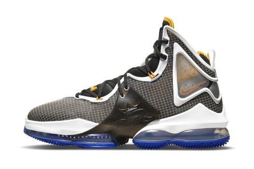 """Nike Constructs a New LeBron 19 in a """"Hardwood Classic"""" Makeover"""