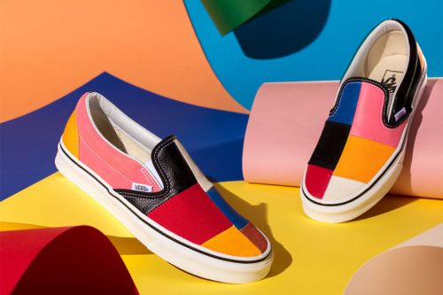 "Vans' ""Patchwork"" Pack Shares a Mix of Premium Materials & Bold Color Blocking"