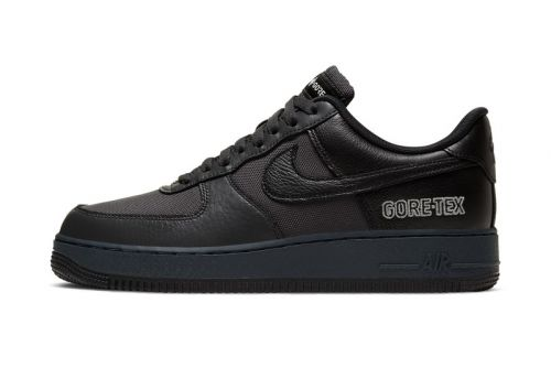 """Nike Air Force 1 GORE-TEX Drops in """"Anthracite/Barely Grey/Black"""""""