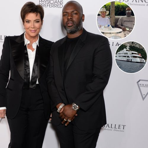 Kris Jenner and Boyfriend Corey Gamble Jet Off to Capri, Italy for a Romantic Couples Getaway