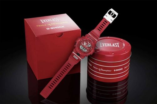 G-Shock Teams up With Everlast for Boxing Glove-Inspired GBA-800