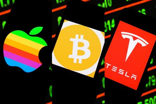 Here Is How Much You Would Have Made if You Invested in Bitcoin, Tesla, and Apple 10 Years Ago
