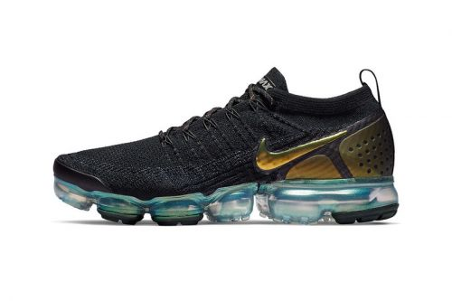 Nike Gives the Air VaporMax Flyknit 2.0 an Iridescent Teal Bubble Sole