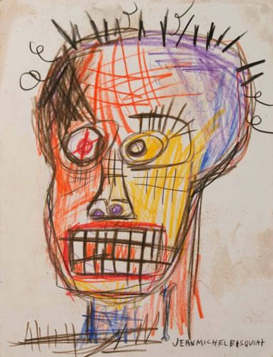 The early Basquiat works created when he was crashing on a dealer's couch